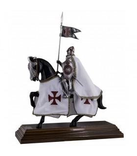 Caballero Templario a Caballo (33 cms.)