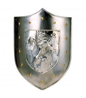 Escudo Metal León Rampante (63x43 cms.)