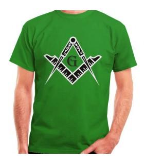 Camiseta Masones Escuadra y Compás
