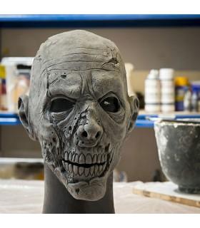 Máscara Cabeza Humana Zombie (57-59 cms.)