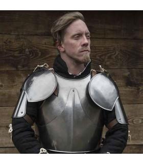 Paar Schulterstücke Soldat Mittelalterlichen