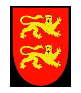 Mittelalterliche Fahne Ricardo Corazón de León