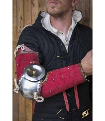 Protección completa de brazo de Paladín, rojo