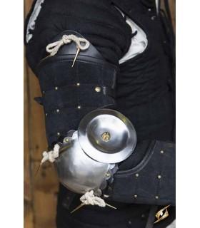 Protección completa de brazo de Paladín, negro