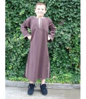 Traje-túnica medieval para niño