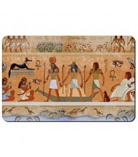 Imán flexible rectangular con Iconos Egipcios