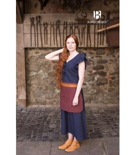 Vestido Medieval Mujer Agga Azul