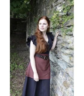 Vestido Medieval Mujer Agga Negro