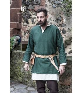 Tunika Mittelalterlichen Erik-grün langarm
