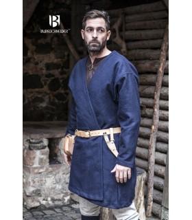 Tunika Mittelalterliche Loki blau langarm