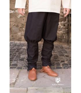 Pantalones medievales Wigbold, negros