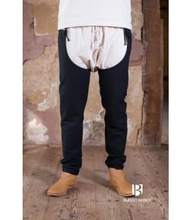Pantalones medievales Brandolf, negro