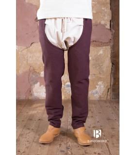 Pantalones medievales Brandolf, marrón