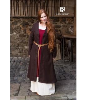 Brial Medieval Aslaug Marrón en Lana
