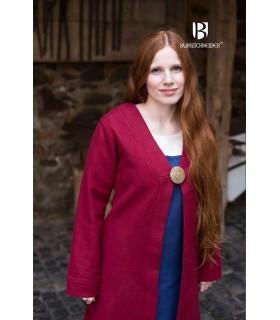 Brial Medieval Aslaug Rojo en Lana