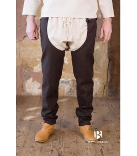 Piernas de lana Bernulf, marrón