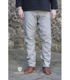 Pantalones medievales Fenris, gris