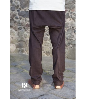 Pantalones medievales Thorsberg, marrón