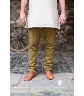 Pantalones medievales Fenris, mostaza