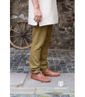 Pantalones medievales Thorsberg, mostaza