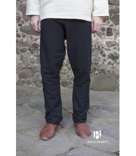 Pantalones medievales Ragnar, negro