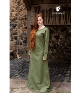 Túnica medieval Freya, verde