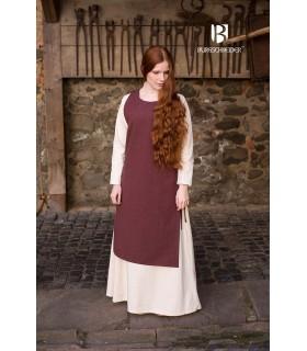 Sobrevesta Medieval Mujer Haithabu Marrón