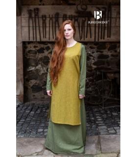 Sobrevesta Medieval Mujer Haithabu Mostaza
