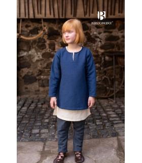 Túnica medieval para niños, Eriksson azul