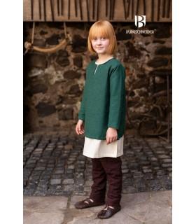 Túnica medieval para niños, Eriksson verde
