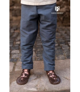 Pantalón medieval niño Ragnarsson gris