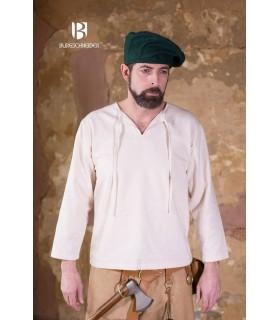 Gorro renacentista Harald, verde