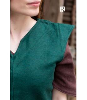 Túnica mujer Meril, lana verde