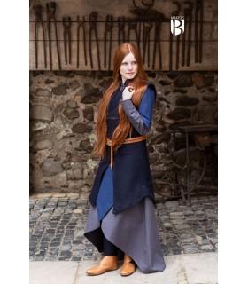 Túnica mujer Meril, lana azul