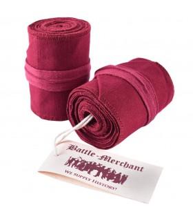 Calcetines Roscados Medievales Rojos