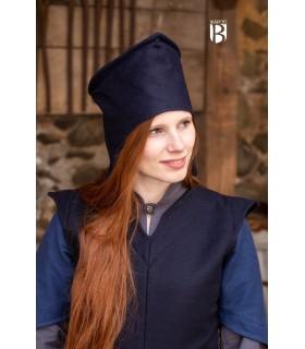 Sombrero de mago Adis, lana azul