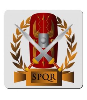 Imán flexible Cuadrado Legión Romana SPQR (7,4 x 7,4 cms.)