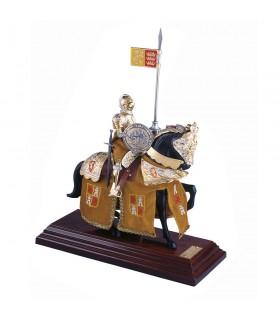 Armadura a caballo Casco Español