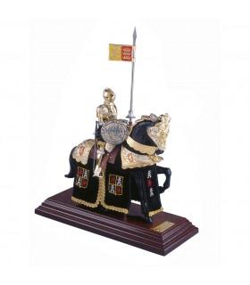 Armadura a caballo Casco Español negro