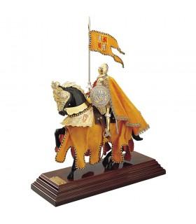 Armadura a caballo Casco Español con capa