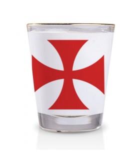 Vaso de Chupito de los Caballeros Templarios
