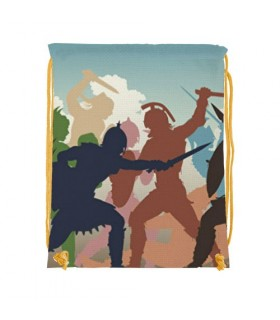 Mochila de cuerdas Lucha Gladiadores (34x42 cms.)