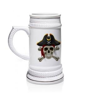 Jarra de cerveza Piratas del Caribe