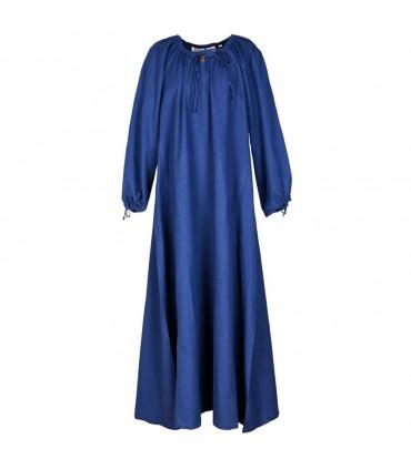 Mittelalterliche kleidung Ana, blau. Kleider frau ...