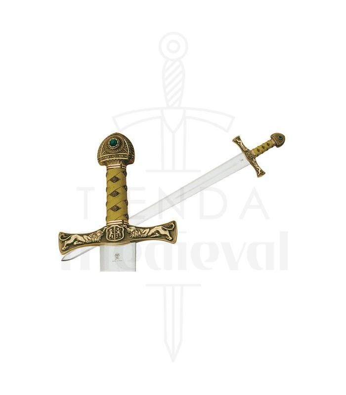 Espada de Ivanhoe en Bronce