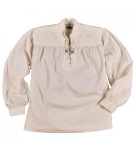 Camisa blanca pirata Ludwig