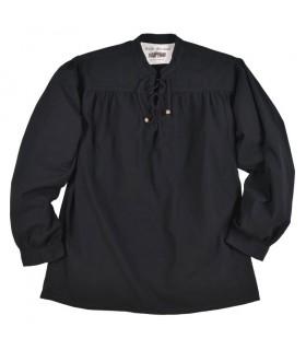 Camisa negra pirata Ludwig