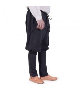 Pantalones vikingos Olaf, negro
