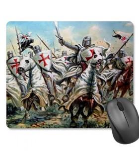 Alfombrilla Ratón Rectangular Caballeros Templarios (23,5x19,5 cm)