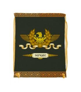 Mochila de cuerdas Legión Romana SPQR (34x42 cms.)